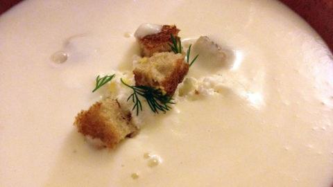 soupe de haricot blanc